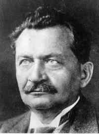 SPD-Parteivorsitzender Otto Wels